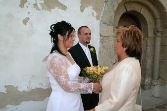Prvá gratulácia - svadobná mama