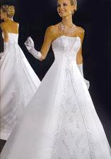 šaty varianta 1