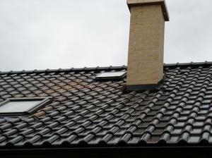 střecha v lesku