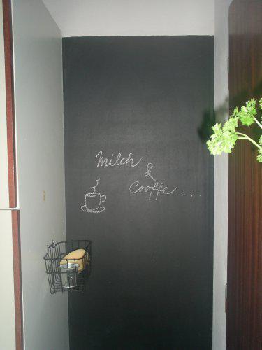 Rekonstrukce vily vilekuly:-) - moje pýcha největší - tabule v kuchyni