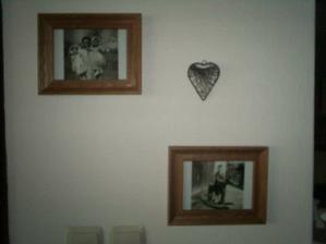 naše obrazárna ze starých rodinných fotek