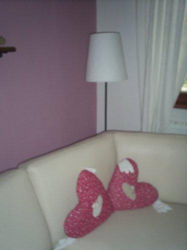 Rekonstrukce vily vilekuly:-) - polštářky z dětské ikea:-)