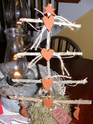 Drobnůstky pro radost - pro ty, kdo slaví sv. Valentýna a těžko se jim loučilo s vánočním stromečkem:-)))