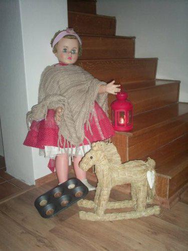Vánoce u nás v Bullerbynu - panna po mojí mamince
