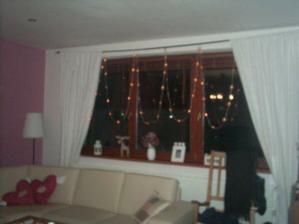osvětlení na oknech