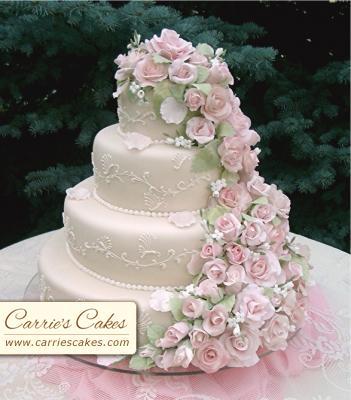 """Naše prípravy na deň """"D"""" - prekrásna tortička"""