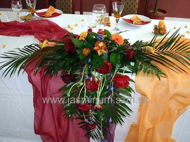 Nas velky den,8.9.2007 - mozno taketo nieco na svadobny stol,len je dost velka
