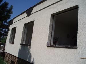 22.- 23.5.2010 vyhouraná okna