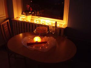 28.11.2009 takovou oslavu jsem připravila k příležitosti zapsání nás jako majitelů do katastru nemovitostí.