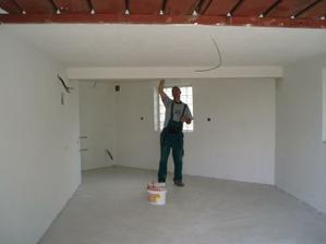 20.6.2010 zatím nejlépe vypadá garáž :-)