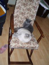 25.7.2010 dostala jsem od manžela houpací křeslo, aby se mi v těhu a s miminkem dobře sedělo