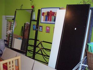 Tak to vypadalo v našem panelákovém bytě...