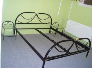 Pokoj je vybavený z nábytku z původního bytu.