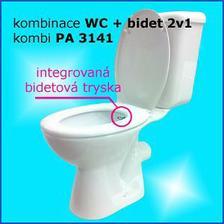 Vyzkoušeno v Turecku, záchod + bidet v jednom, ušetřím místo a splním si přání mít bidet.
