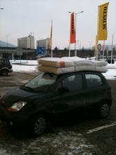 Mám malé auto, ale velké odhodlání :-)
