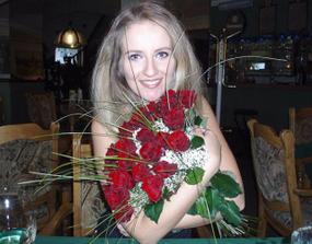 3.1.2007 mně můj myška požádal o ruku.V den mých pětadvacátých narozenin v restauraci,kde jsme spolu byli poprvé na večeří.