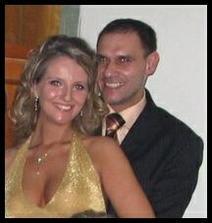 Ples 2.2.2008 - zkouška svatebního účesu a trpělivosti při focení :-)