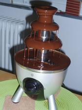 Čokoládová fantánka v akci.Koupená od navěsty kamelie.Moc děkuji.