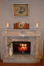 Teplo našeho domova.......doslova, celou zimu nefunguje kotel, ale přeplatek za plyn mně moc potěšil :-D