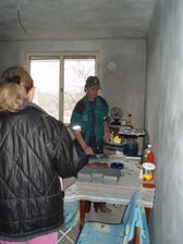 4.4.2010 zedník a jeho pokojík, všimněte si potahů na židli a jiných drobných detailů.