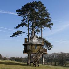 Bývanie na strome? Ja by som so vybral jaseň :)