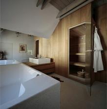 ...sauna je skvelý nápad