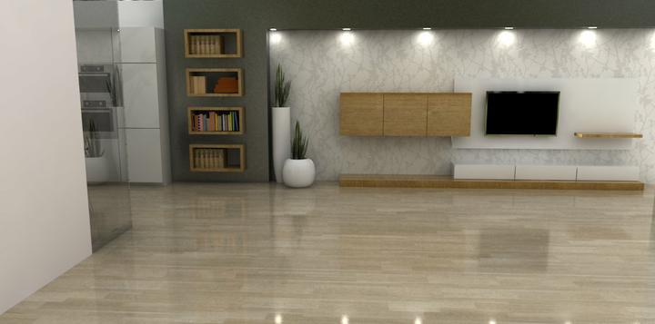 Vizualizácia pre Janettku- pokračujeme do obývačky-druhá verzia - 1.verzia