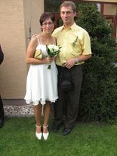 Výročí po třech letech, na svatbě mojí sestry