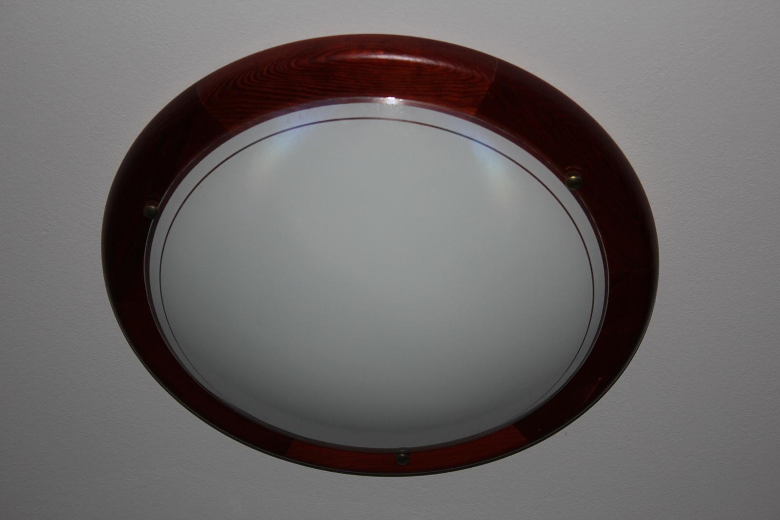 Okrúhle svetlo na 2 žiarovky  - Obrázok č. 1
