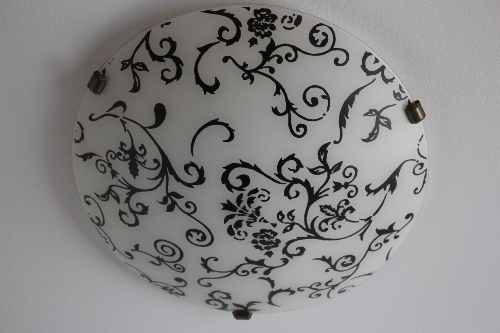 Okrúhle ornamentové svetlo na 2 žiarovky - Obrázok č. 1