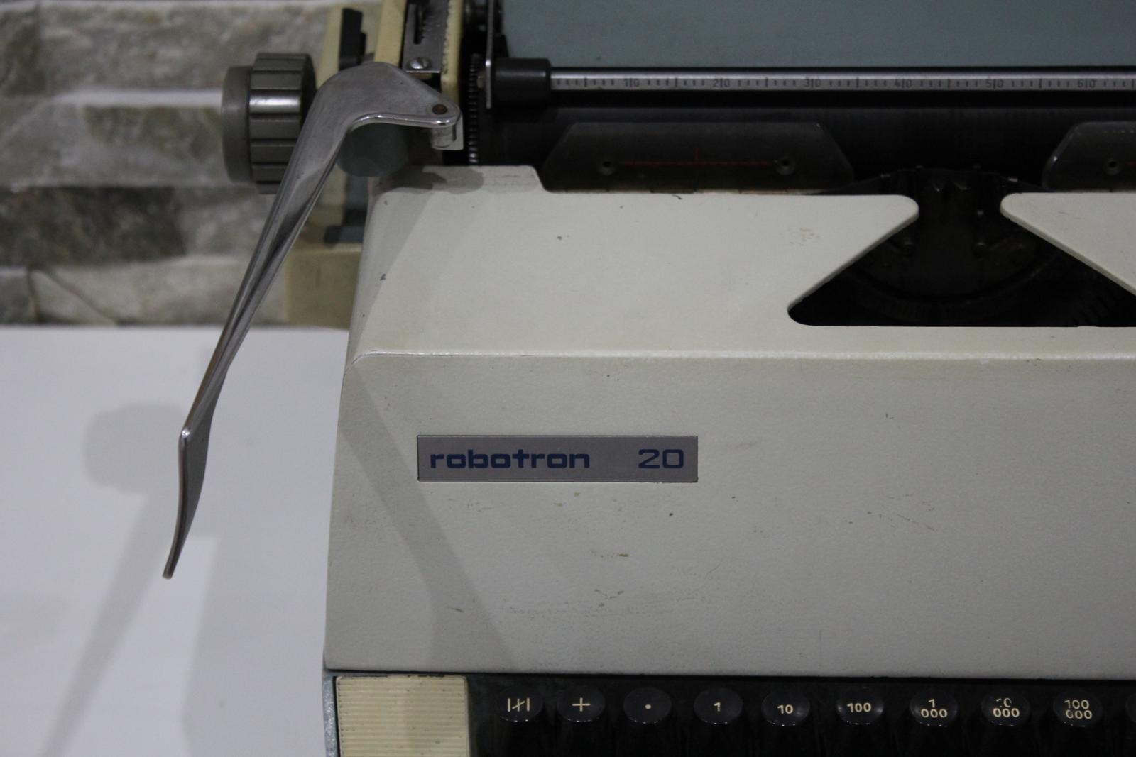 Písací stroj ROBOTRON 20 - Obrázok č. 1