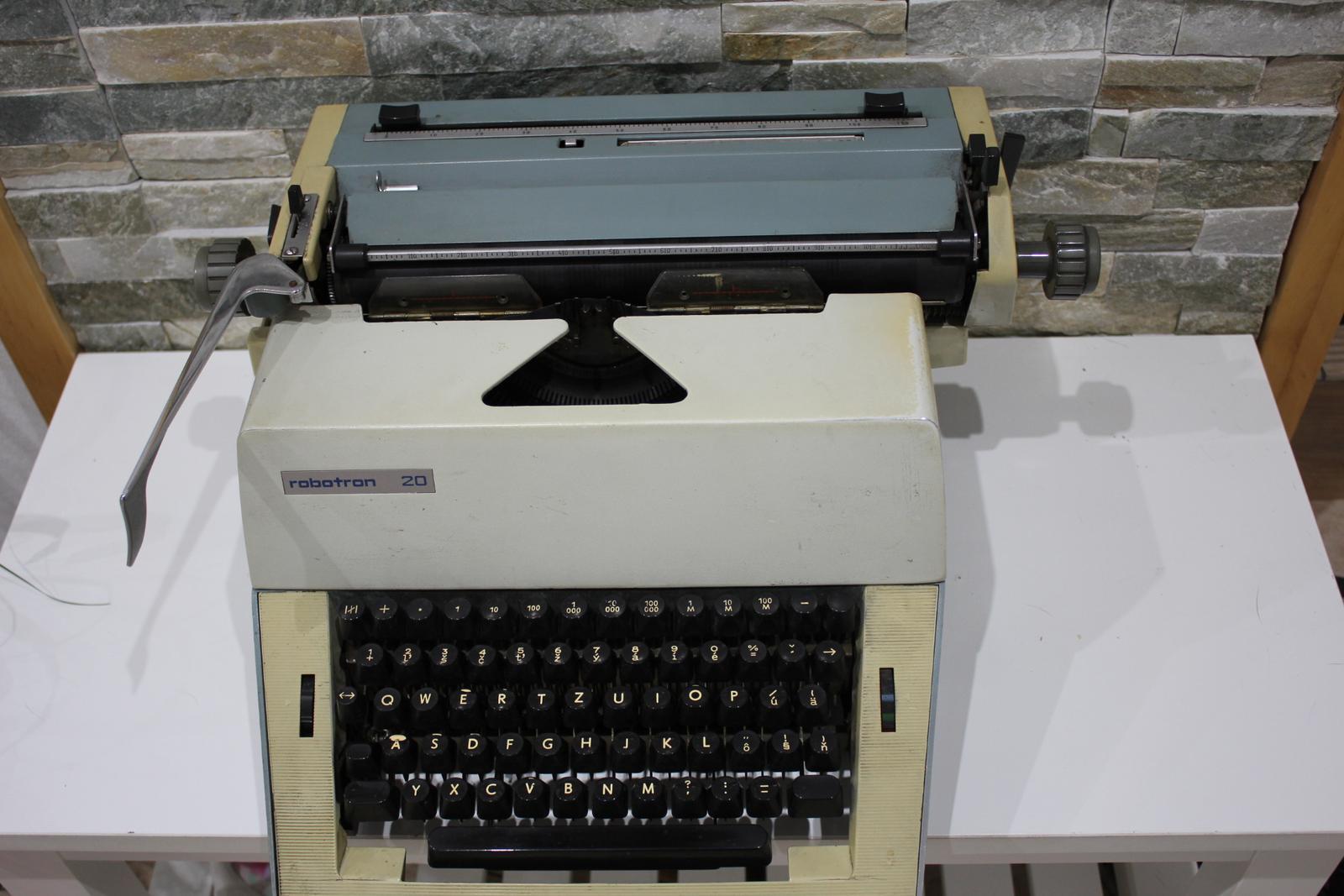 Písací stroj ROBOTRON 20 - Obrázok č. 2