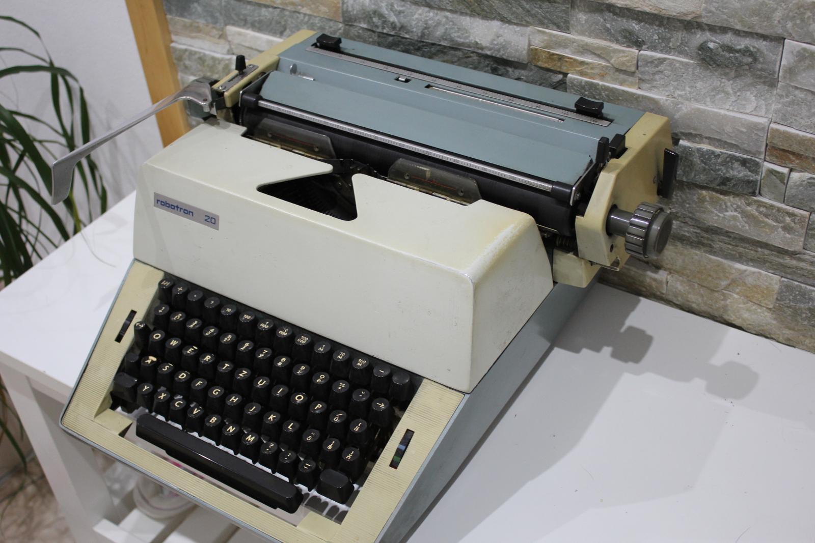 Písací stroj ROBOTRON 20 - Obrázok č. 4