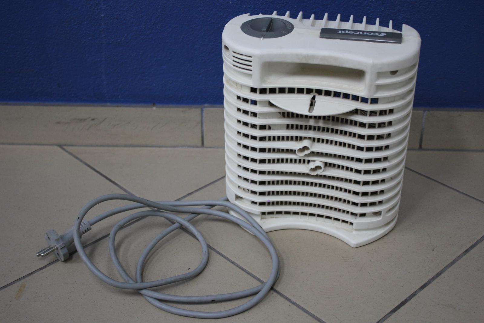 Teplovzdušný ohrievač na elektrinu CONCEPT - Obrázok č. 1