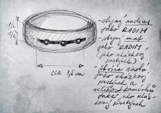 návrh prstýnku