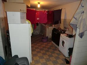 Před rekonstrukcí - prádelna