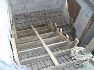 schody este nedokoncene
