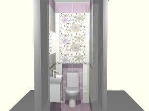 vizualizacia maleho wc.aj to chceme pozmenit,asi nedam violu,ale beige a bielu
