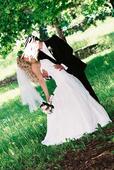 Svadobné šaty snehovobiele 38-42, 42