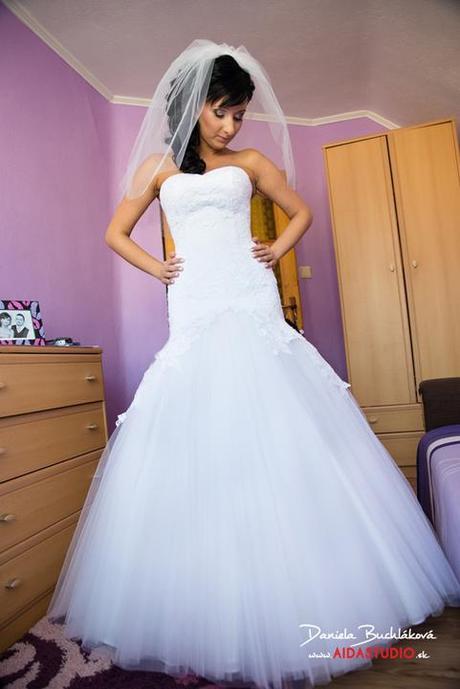 Svadobné šaty- Značka GALA - model Birma - Obrázok č. 2