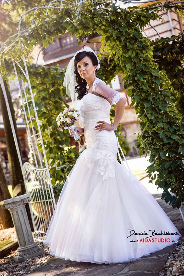 Svadobné šaty- Značka GALA - model Birma - Obrázok č. 1