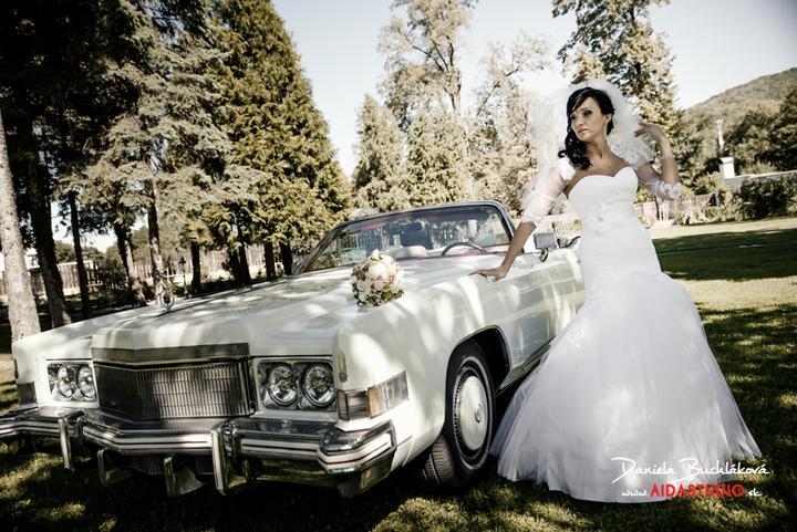 Svadobné šaty- Značka GALA - model Birma - Obrázok č. 3
