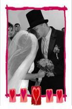 první manželská pusina :-)