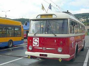 Bude výlet svatebním trolejbusem :)