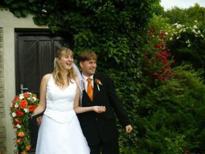 Moc jsme si svatební den užili . . .