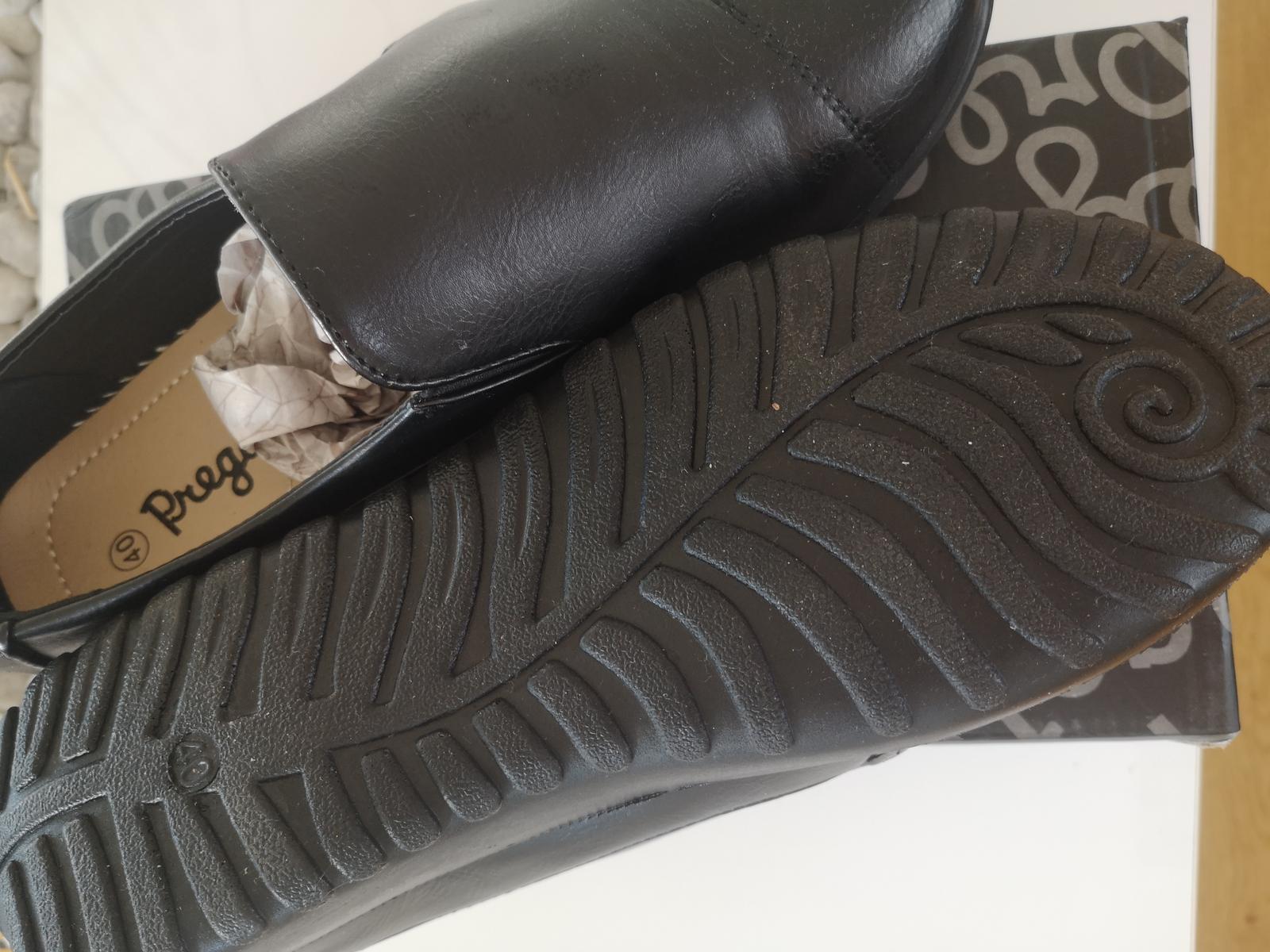 černé boty - Obrázek č. 1