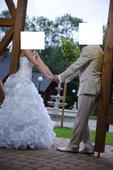 Svadobné šaty, veľ. 32-34, 32