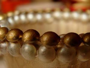 detail zlatostříbrného