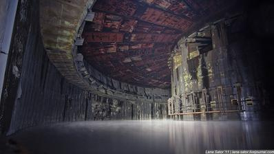 Russian military rocket factory