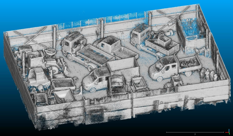 3D Skenování - Garáž